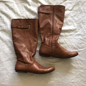 Style & Co extended calf boots 8.5 Style & Co